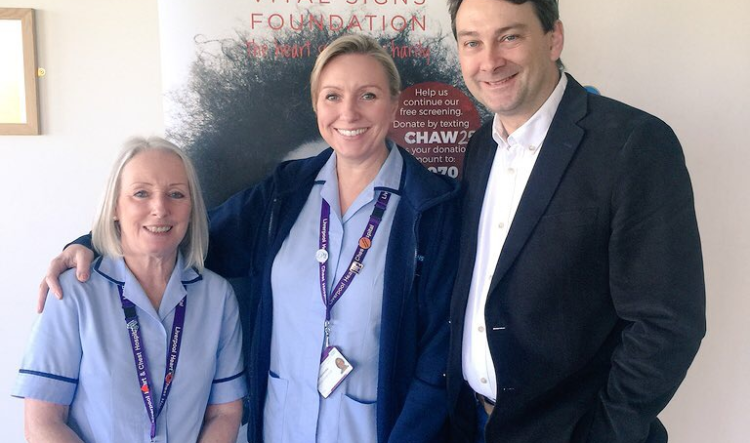 Heart Screening in Chester – April 2018