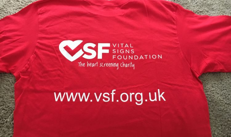 1 X Official Vital Signs Foundation T-Shirt - £8