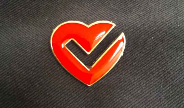 1 X Official Vital Signs Foundation Pin Badge - £2