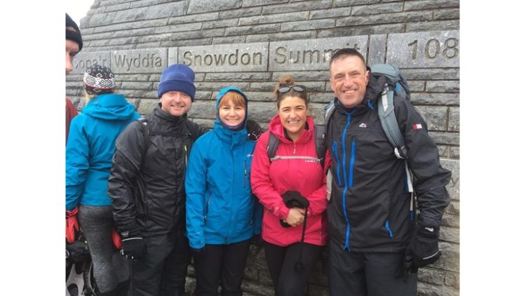 Team Pardelli overcome the Ben Nevis Challenge