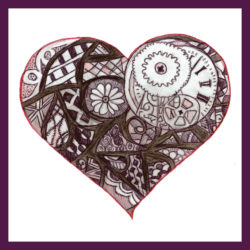 """Love you round the clock"" designed by Lauren Morgan"