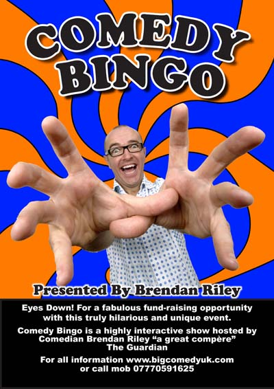 Eyes down – look at what the Comedy Bingo night raised!