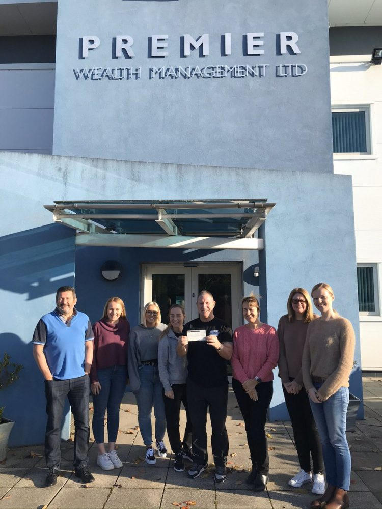 Premier Wealth Management in Southport – fantastic fundraisers!