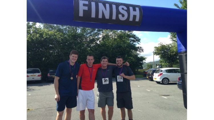 Team T-Money take on another challenge in memory of Chris Tansey