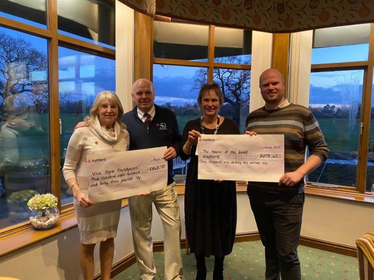 Eaton Golf Club – fundraising champions!